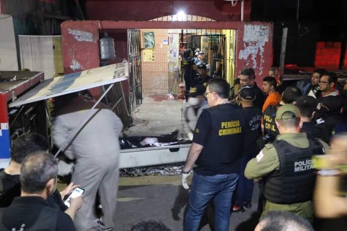 O local do crime, no Guamá: quatro policiais militares acusados