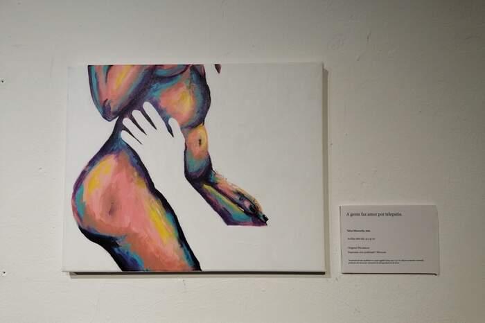 Obra da exposição 'A Falta'
