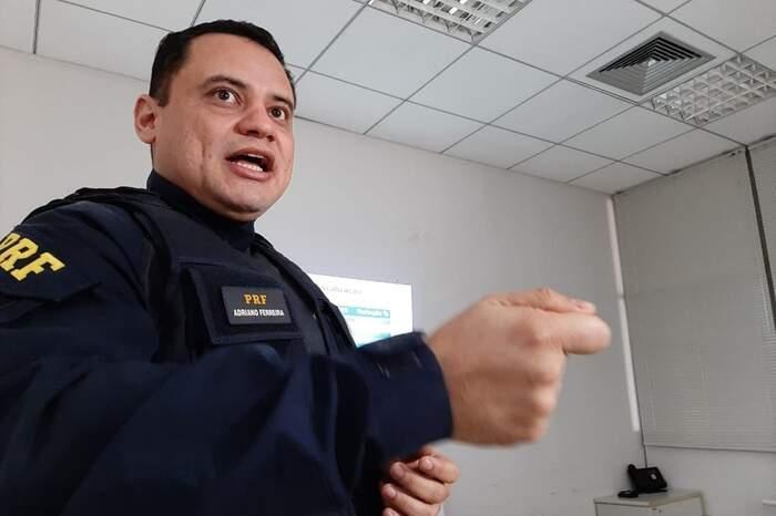Adriano Ferreira, chefe da Secom da PRF