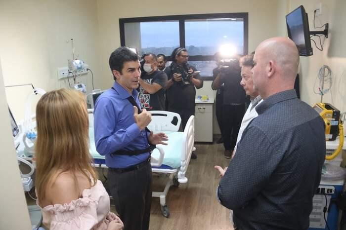 Vistoria começou pelo hospital Abelardo Santos, de Icoaraci