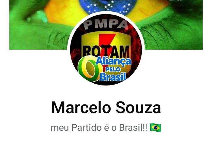 O promotor de Justiça Militar Armando Brasil observa que é vedado a militares manifestação político-partidária