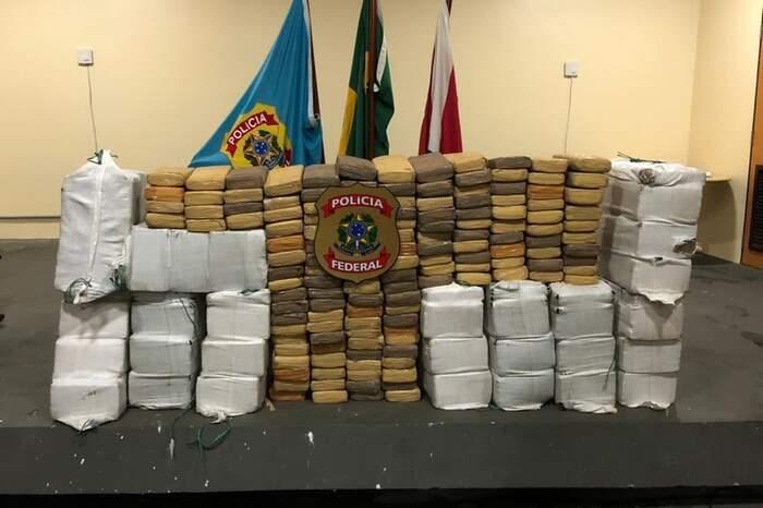 Droga foi pesada na sede da Polícia Federal, em Belém