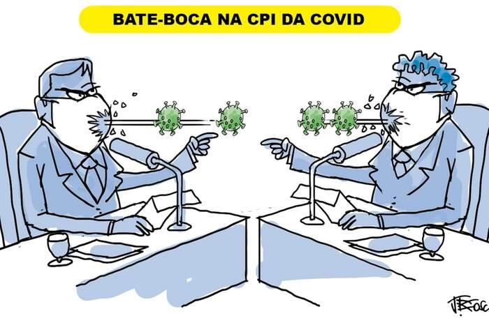 Bate-boca na CPI da covid-19