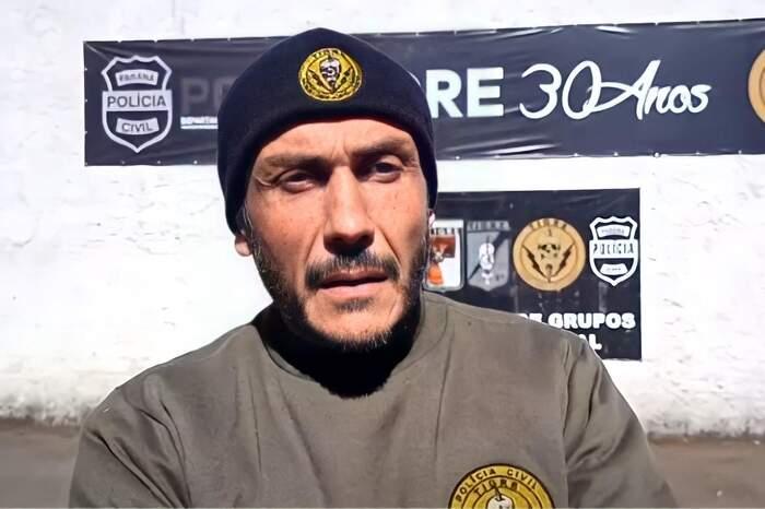 Delegado Cristiano Quintas, do Grupo Tigre, comandou a operação de resgate do empresário paraense