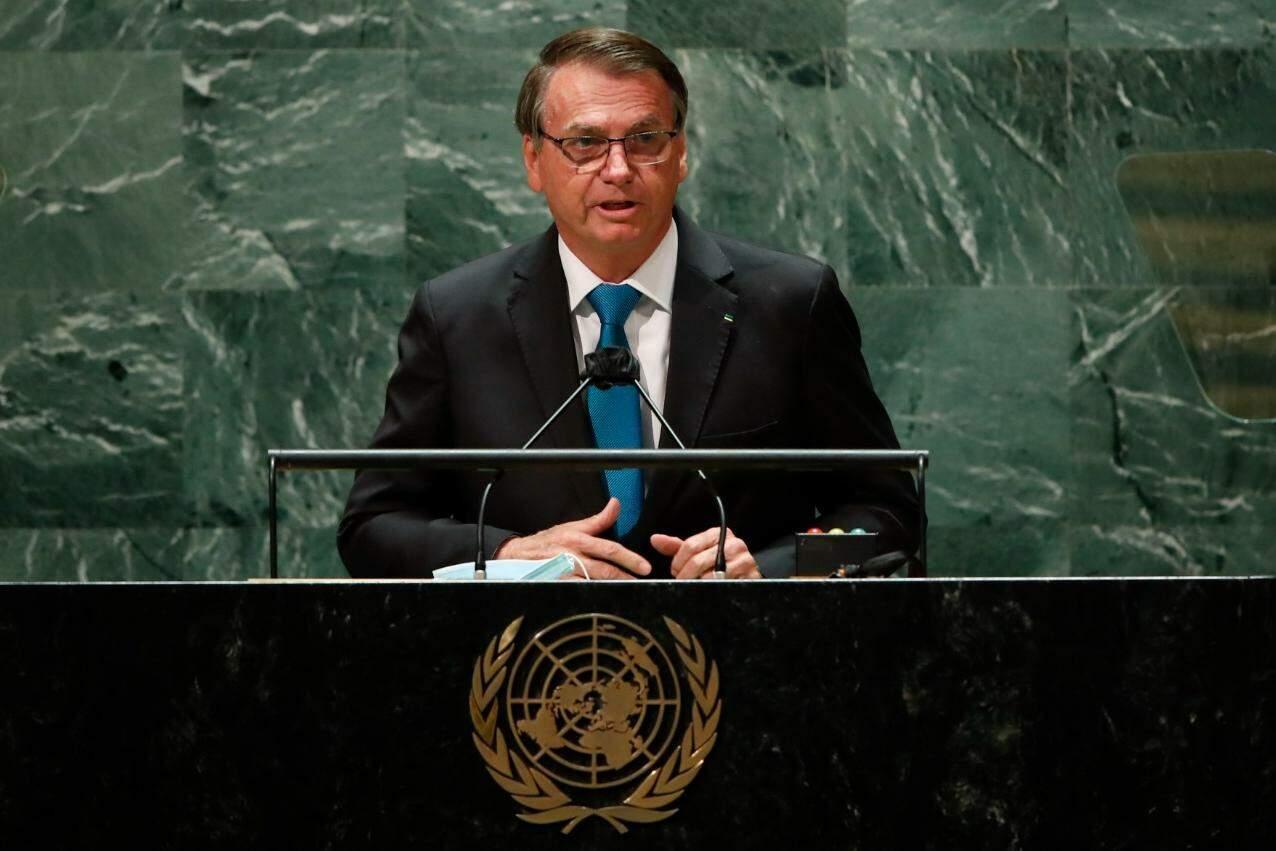 Apresento um novo Brasil com credibilidade recuperada', afirma Bolsonaro em Assembleia Geral da ONU