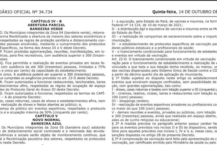 Novo decreto permite 50% de público em eventos esportivos em municípios da 'Zona Verde'