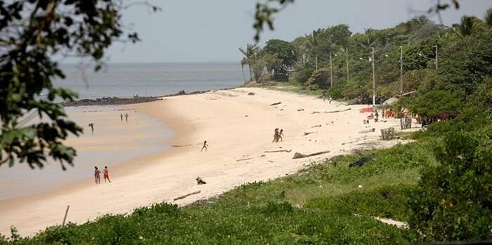 A paisagem natural de Joanes agrada pessoas que buscam no Marajó um momento para relaxar