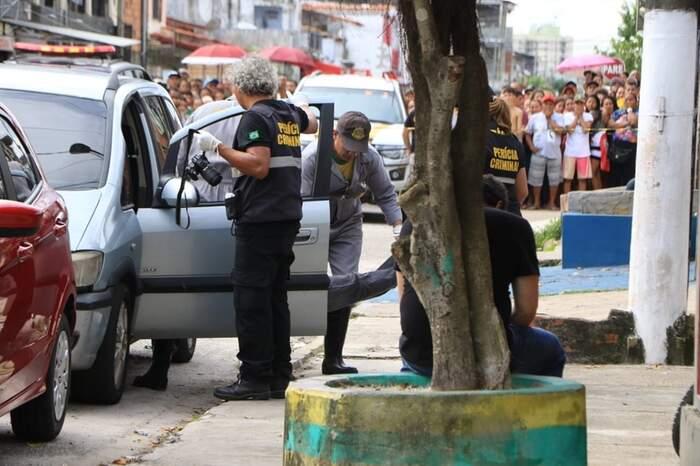 Félix foi morto dentro de seu carro: os assassinos fugiram